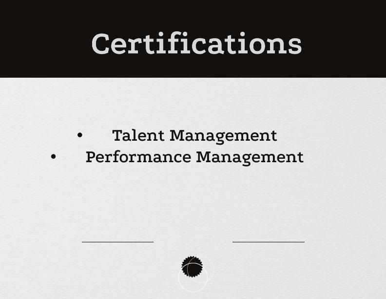 CV format for Fresher